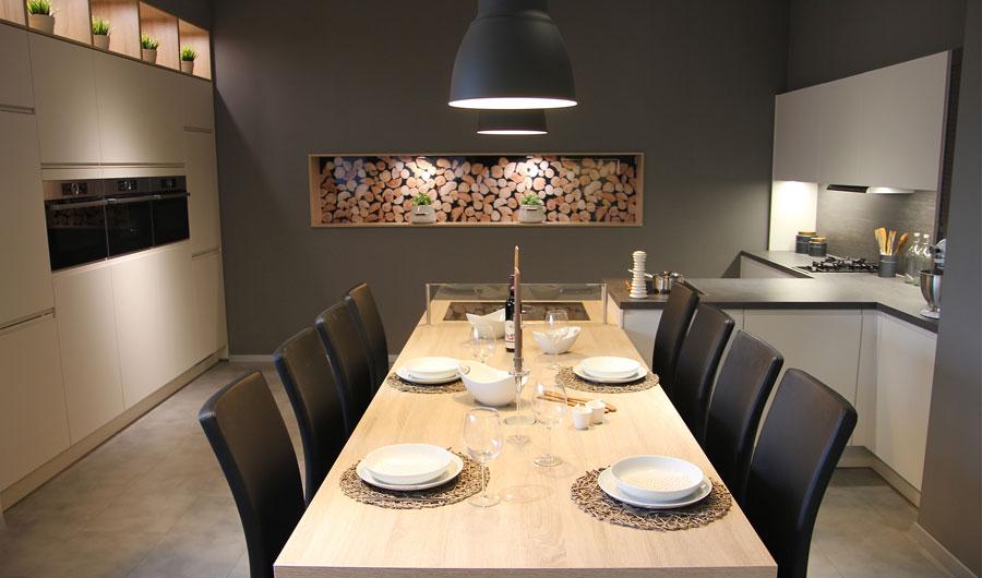 Küchenausstellung von KiPA Küchenkonzepte